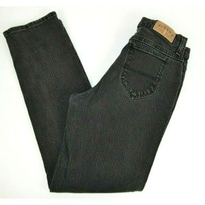 Lee Denim Riders Straight Leg Black Jeans